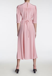 Felix Silk Dress - Cruz