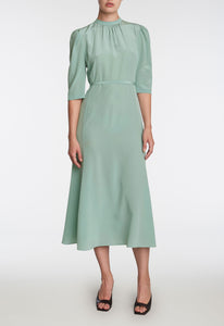 Felix Silk Dress - Irish