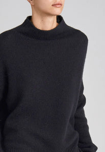 Grayson Cashmere Sweater - Black