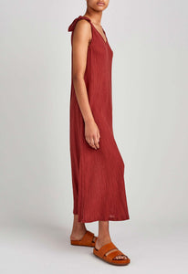 Hart Cotton Dress - Clinker