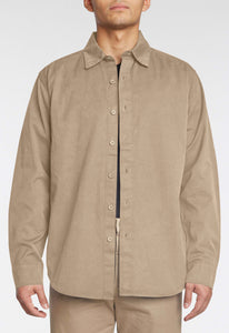 Hawley Cotton Shirt - Bistre