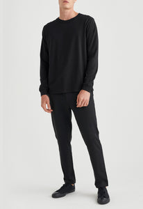 Eve Long Sleeve Tee - Black
