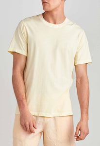 Jessie Cotton Tee - Faded Yellow