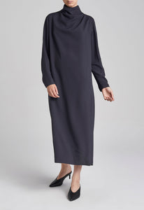 Luca Dress - Darkest Navy