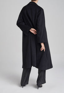 Matisse Cashmere Coat - Black
