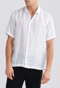 Lake Linen Shirt - White