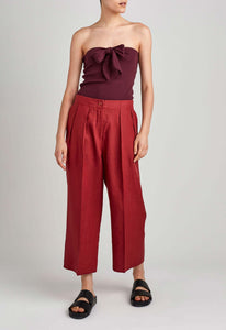 Nia Top - Dark Plum