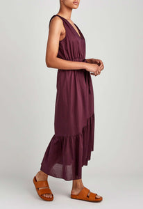 Noma Dress - Dark Plum