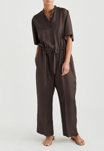 O'Neil Silk Jumpsuit - Lava