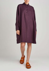 Page Dress - Dark Plum