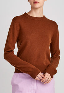 Peter Cashmere Sweater - Rum