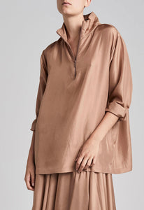 Phillips Blouse - Warm Doe