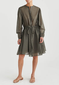 Poppy Dress - Army