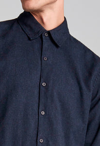 Porter Shirt - Navy Black
