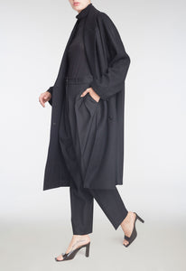 Prescott Merino Coat - Black