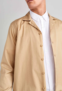 Romeo Cotton Jacket - Tan