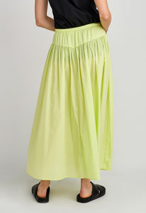 Roza Skirt - Fluro Acid