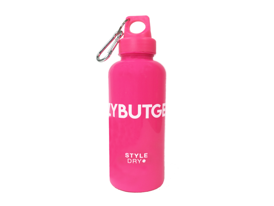 Gift with every purchase: #LAZYBUTGENIUS waterbottle