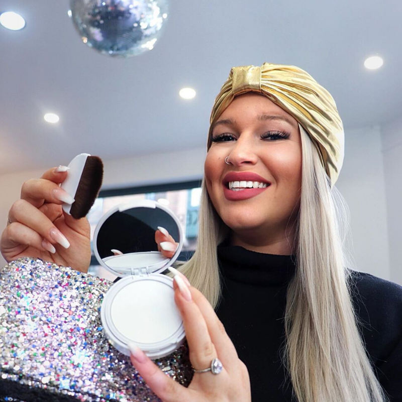 Styledry Gift Set: Disco Made Me Do It (Dry Shampoo + Shower Cap + Glitter Bag)