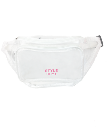 Gift with every purchase: transparent STYLEDRY bum bag