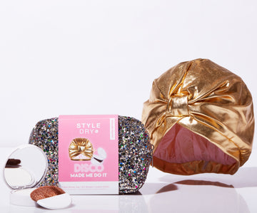 Gift Set: Disco Made Me Do It (Dry Shampoo + Shower Cap + Glitter Bag)