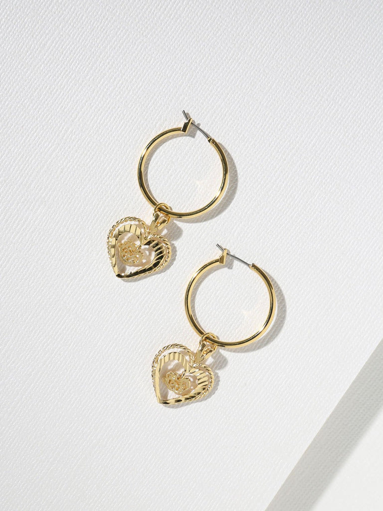 THE ADORAR HEART EARRINGS