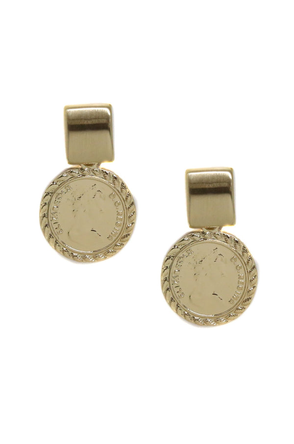 COIN STAR - EARRINGS - CACHICCI