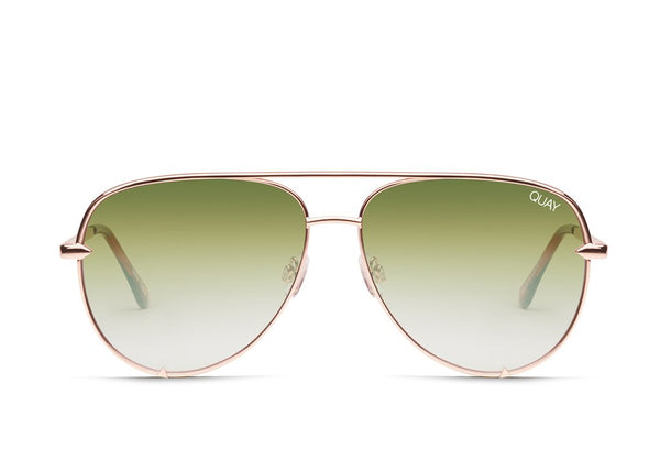 HIGH KEY MINI - NEW-EYEWEAR-QUAY-ROSE GREEN FADE-CACHICCI