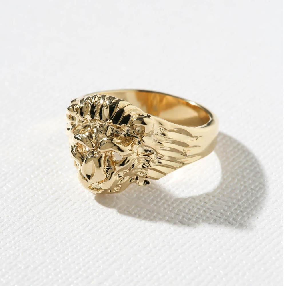 THE LION RING - simple - CACHICCI
