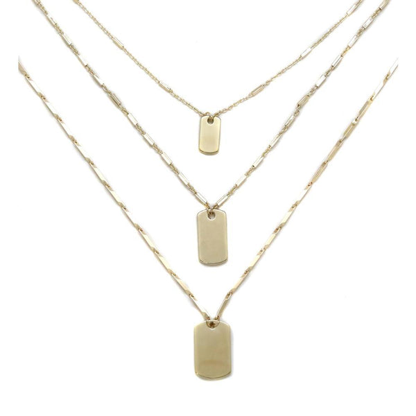 TRIPE LAYERS - NECKLACE - CACHICCI