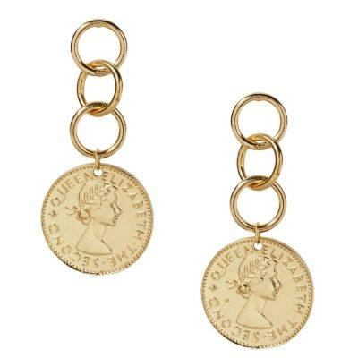 COIN STOPPER - EARRINGS - CACHICCI