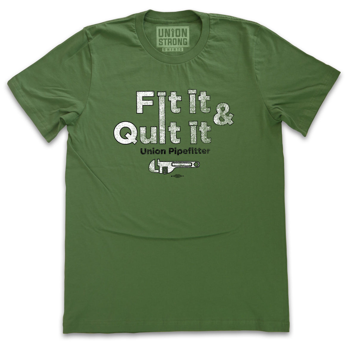 Fit It & Quit It Shirts unionstrongshirts