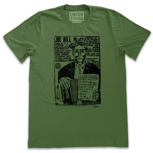Joe Hill Shirts unionstrongshirts