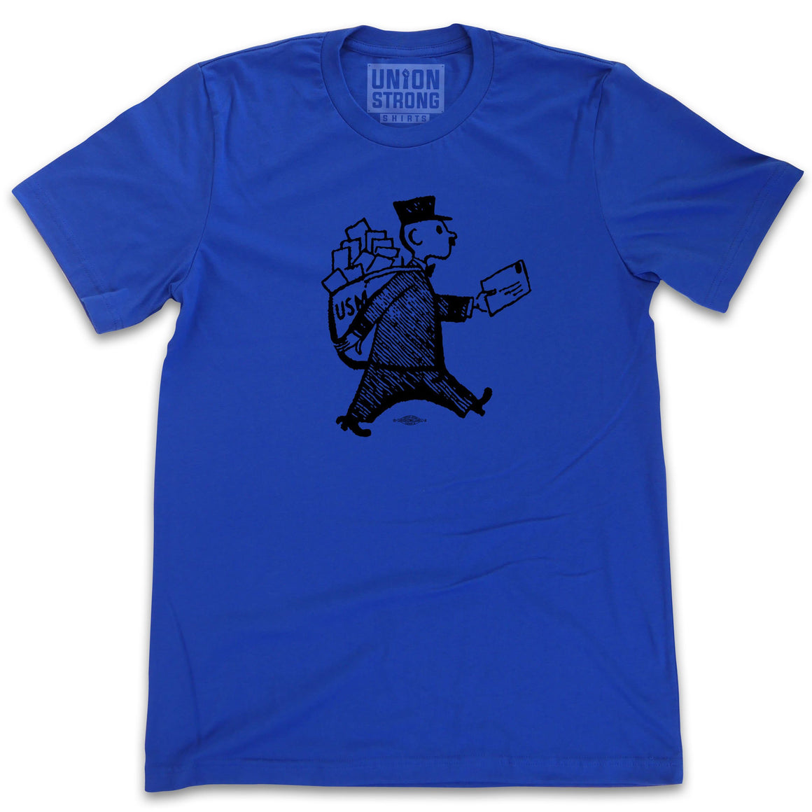 US Mailman Sketch Shirts unionstrongshirts
