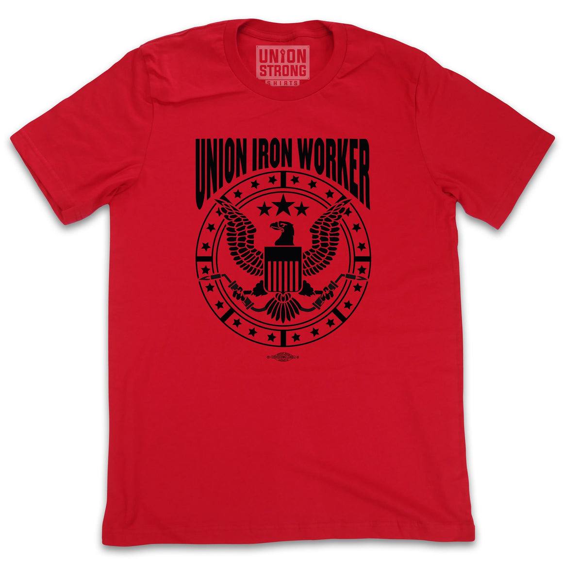 Union Iron Worker - Eagle Logo Shirts unionstrongshirts