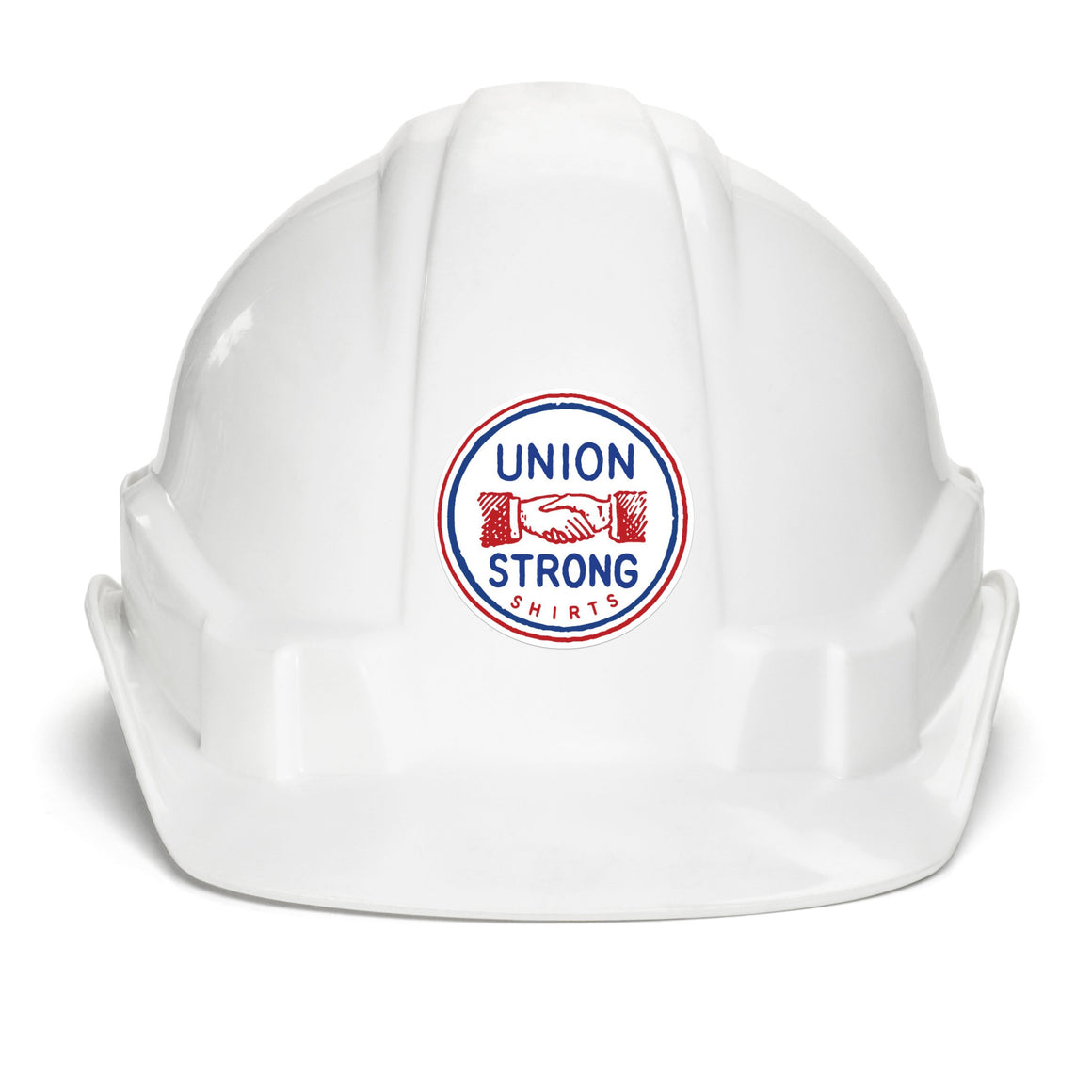 Union Strong Shirts - Classic 2 Color Logo Sticker Stickers unionstrongshirts