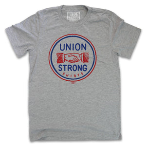 Union Strong Shirts - Classic Stamp 2 Color Logo Shirts unionstrongshirts