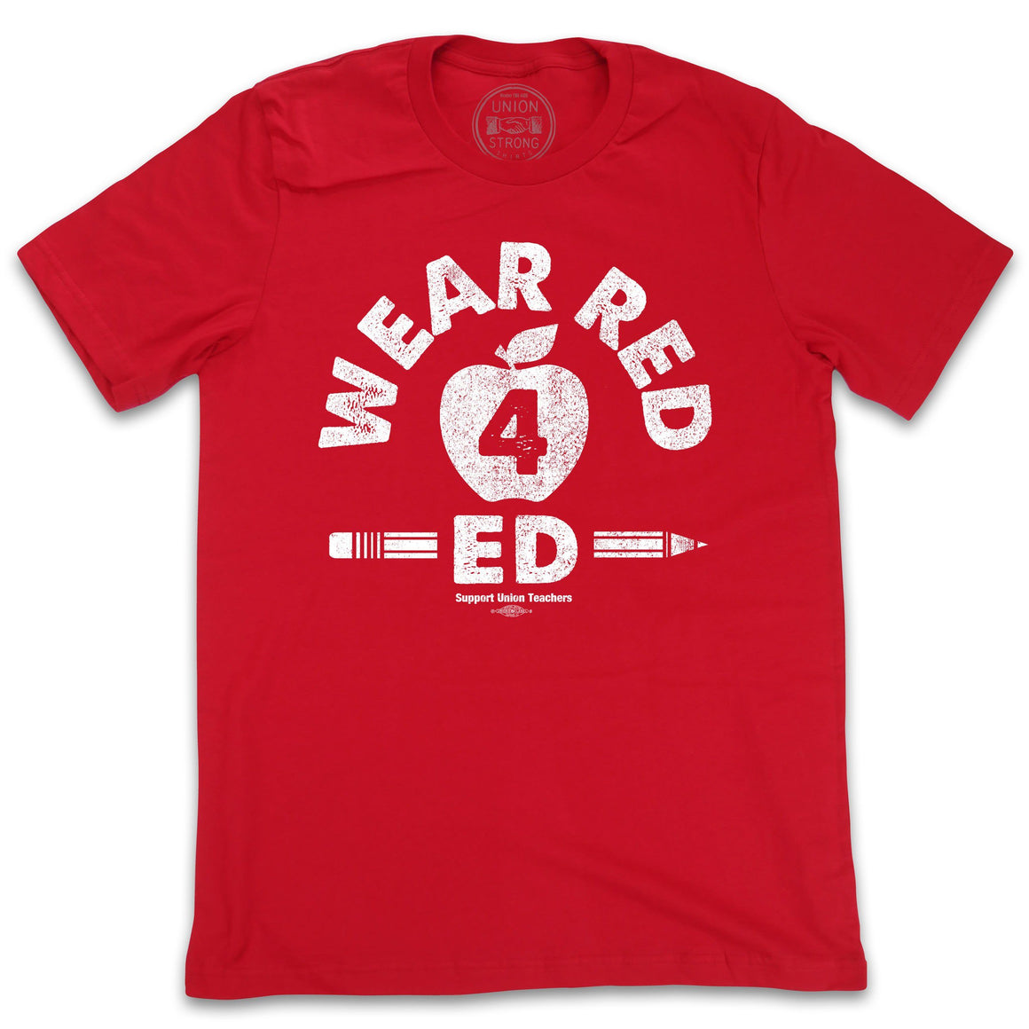 Wear Red 4 Ed Shirts unionstrongshirts
