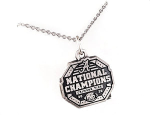 Alabama National Champions Logo Pendant