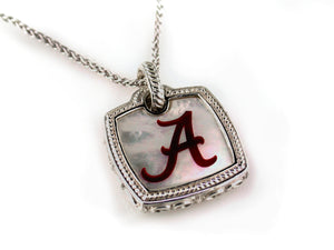 Alabama Cushion Mother of Pearl Pendnat