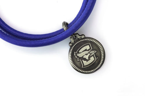 Creighton Bluejays Leather Bracelet