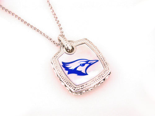 Creighton Bluejay Mother of Pearl Pendant