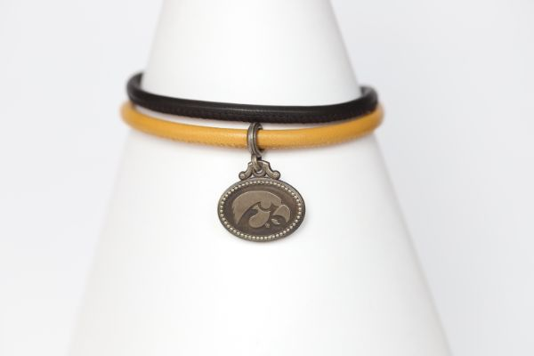 Iowa Double Wrap Coin Bracelet