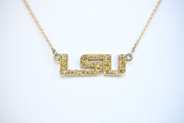 14k LSU Inline Necklace