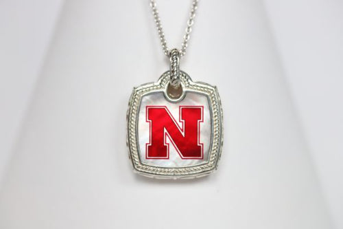 Nebraska Cushion Mother of Pearl Necklace
