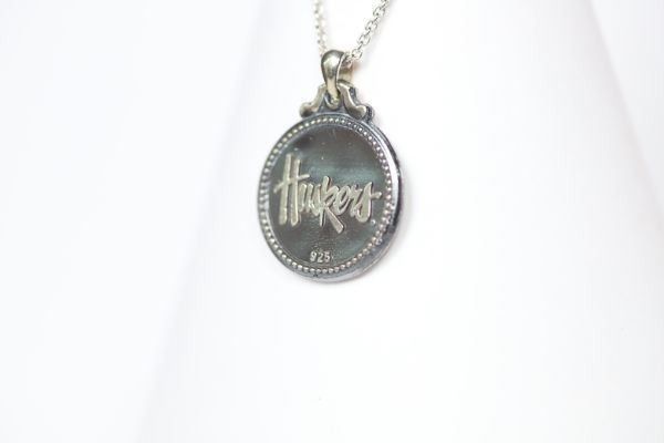 Nebraska Sterling Coin Necklace