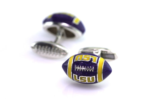 LSU Football cufflinks