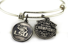 Load image into Gallery viewer, LSU National Champions Expandable Charm Bracelet