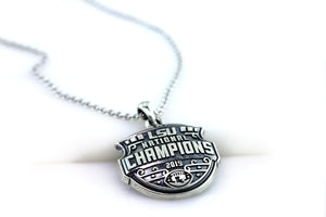 LSU National Champions Sculpted Antique Pendant