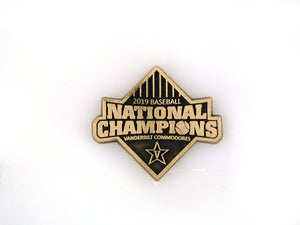 Vanderbilt National Champions Hat/Lapel pin